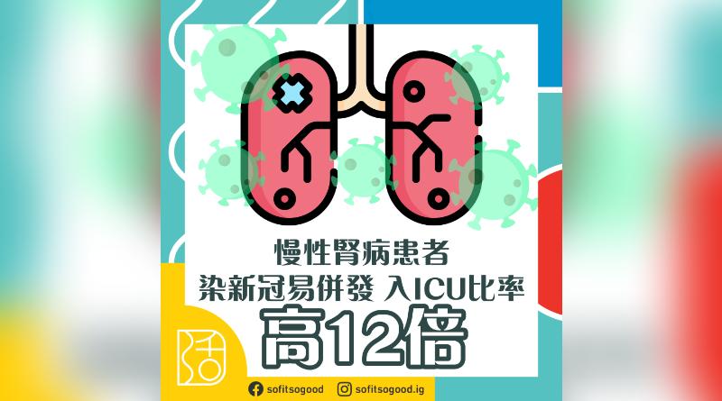 慢性腎病染新冠易併發
