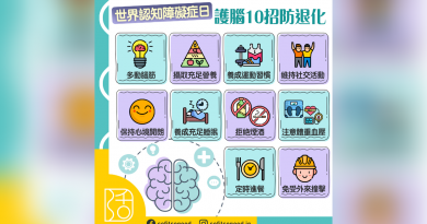 【世界認知障礙症日】護腦10招防退化